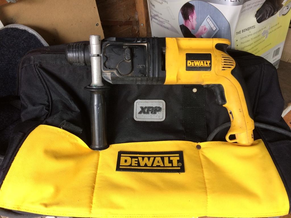 Dewalt SDS Drill + Bag