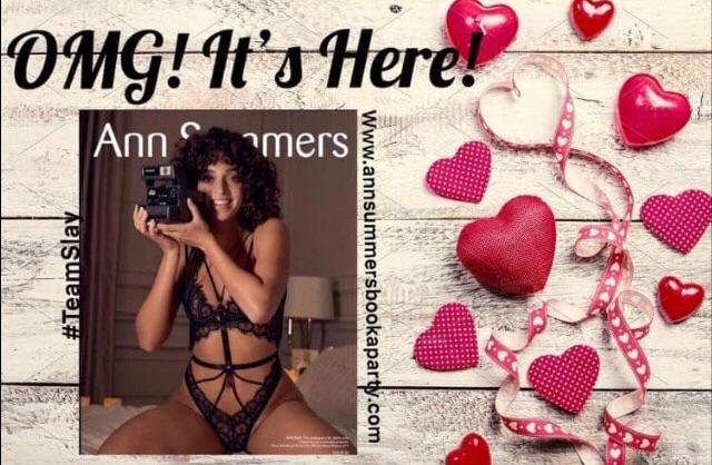 New Ann Summers Catalogue