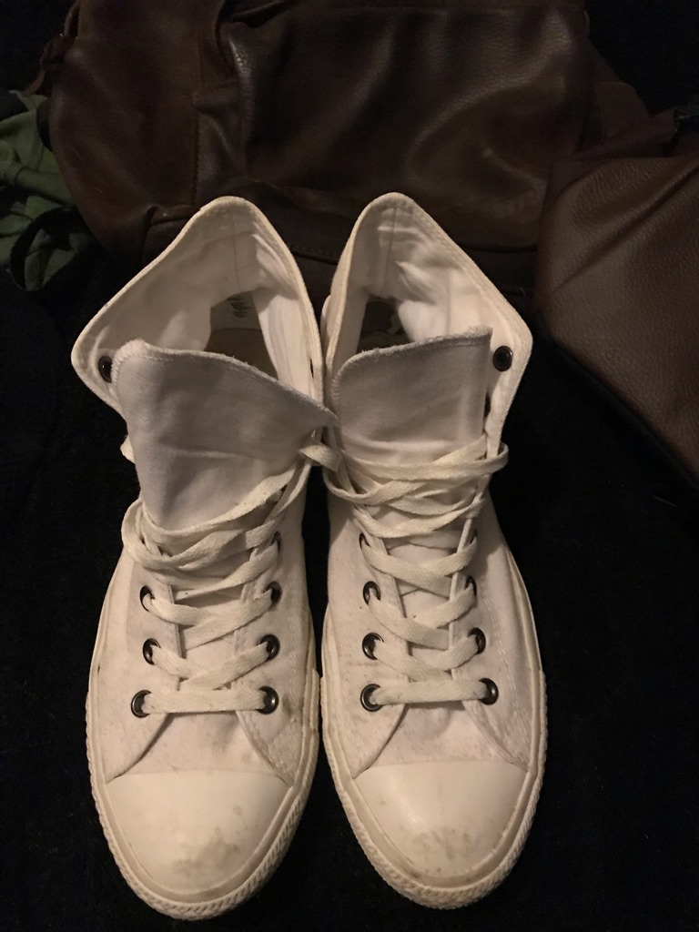 Men's Converse White Size 10 UK 44