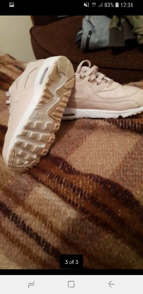 Girls air max trainers