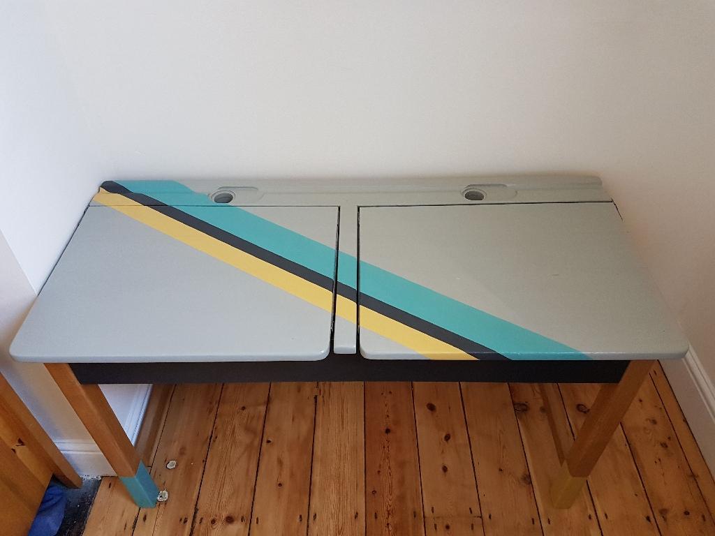 Restored vintage child desk