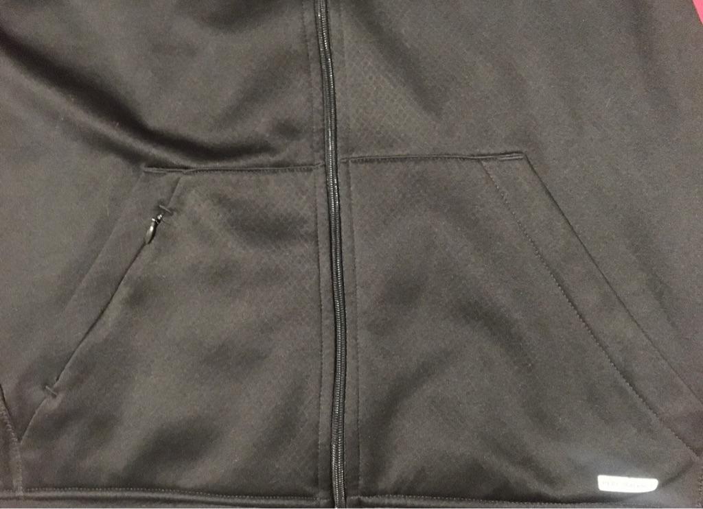 Tek Gear Training Performance Black Hoodie Jacket