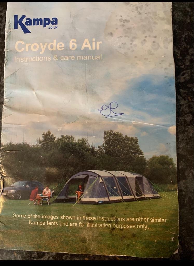 Six birth air tent