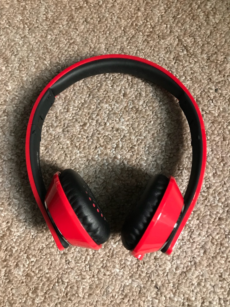Runaway wireless headphones