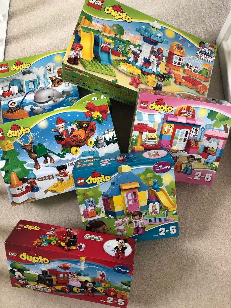Various Complete Duplo Sets
