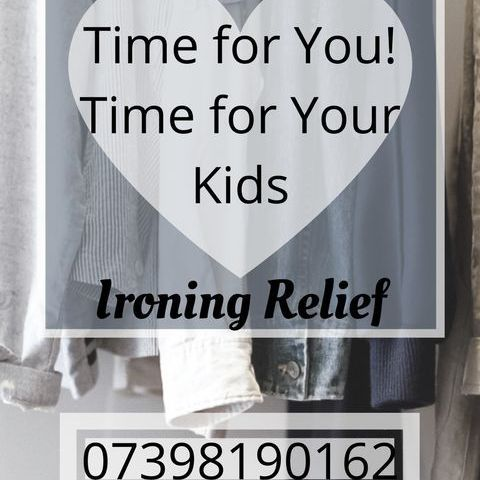 IRONING SERVICE free collection & return*