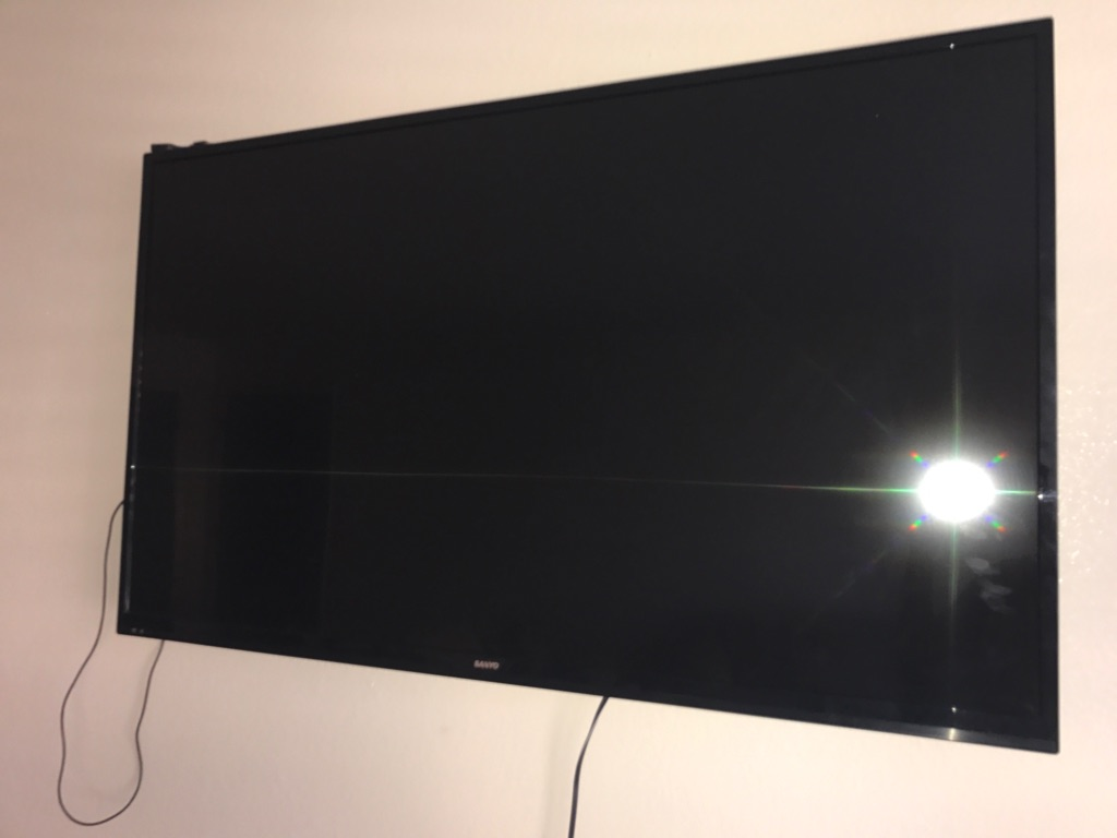 "55""inch flat screen"