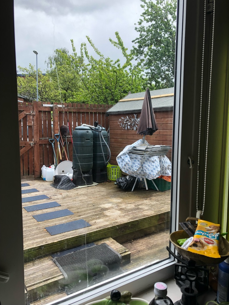Garden shed clearance
