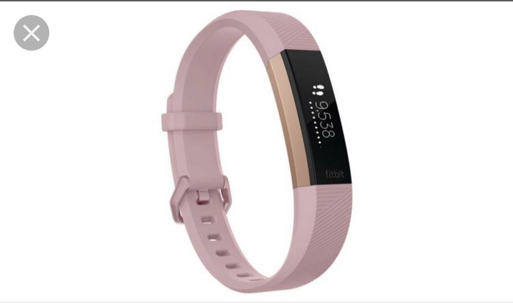 Fitbit Altr HR - limited edition rose gold size L
