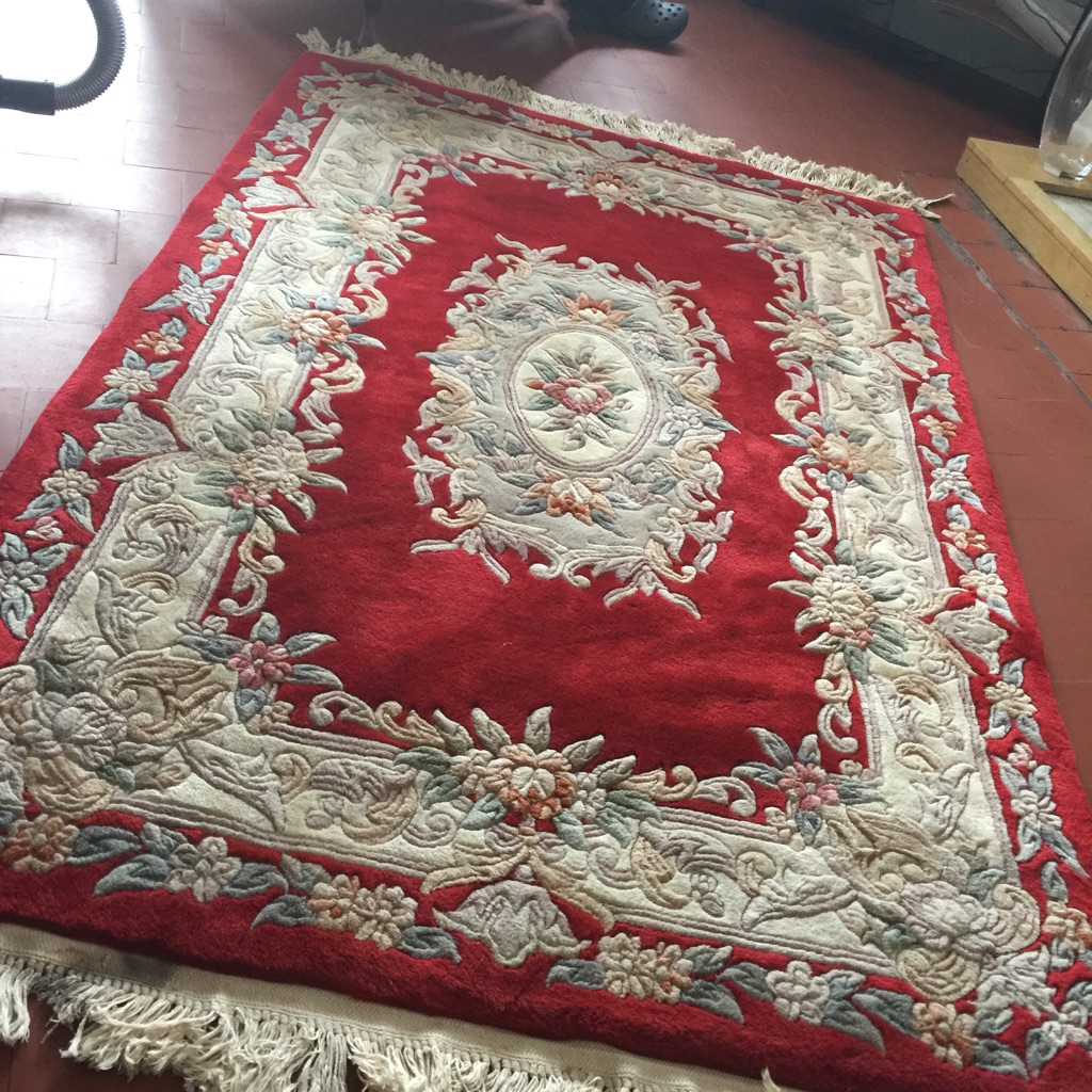 Vintage Top Quality Genuine Chinese Rug