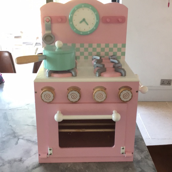 Child's wooden stove