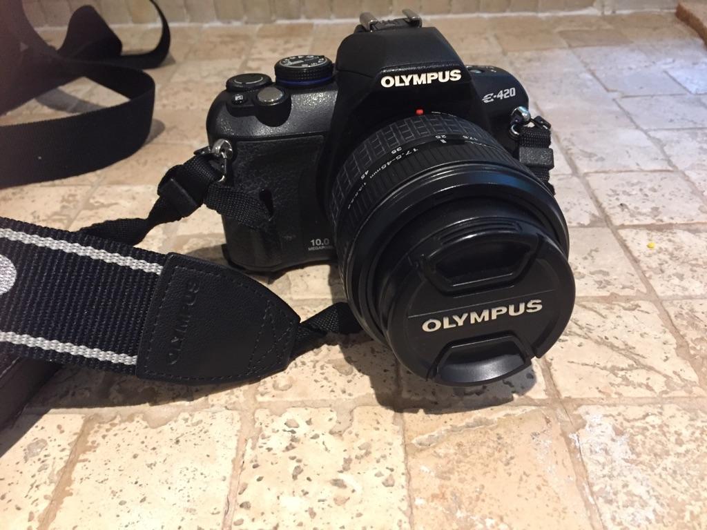Olympus camera and original lens