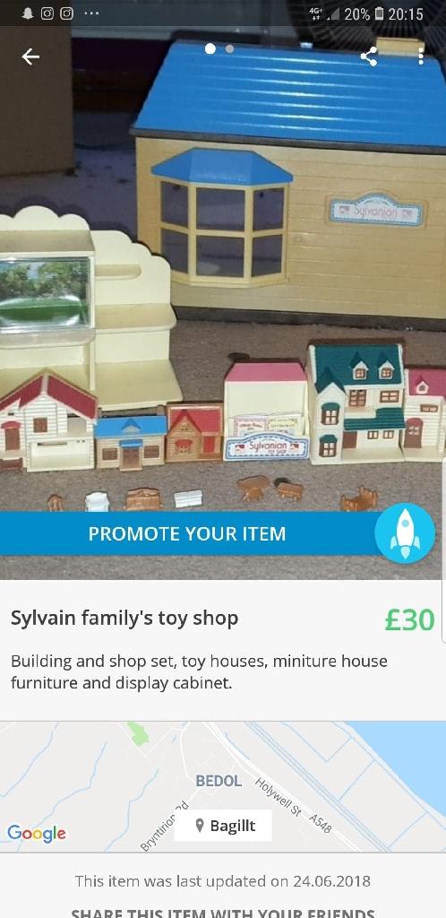 sylvanian family toyshop
