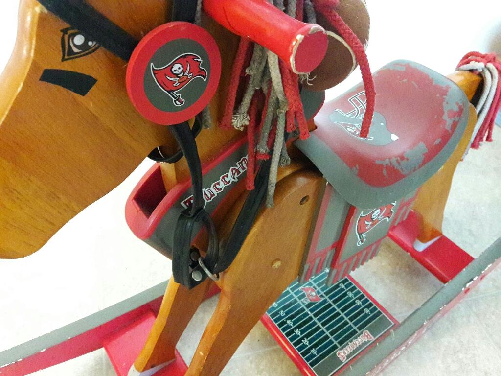 Tampa bay Buccaneers licenced Rocking Horse