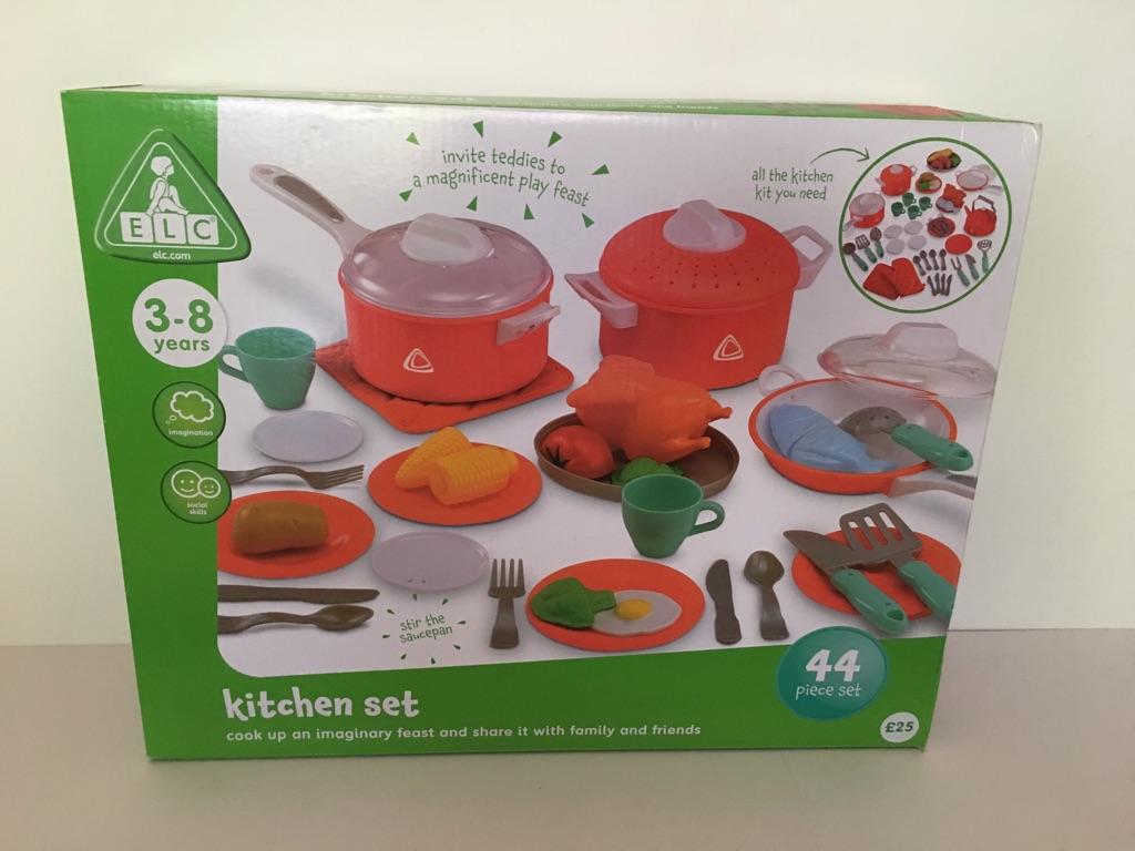 ELC Kitchen Set - 44 piece - NEW