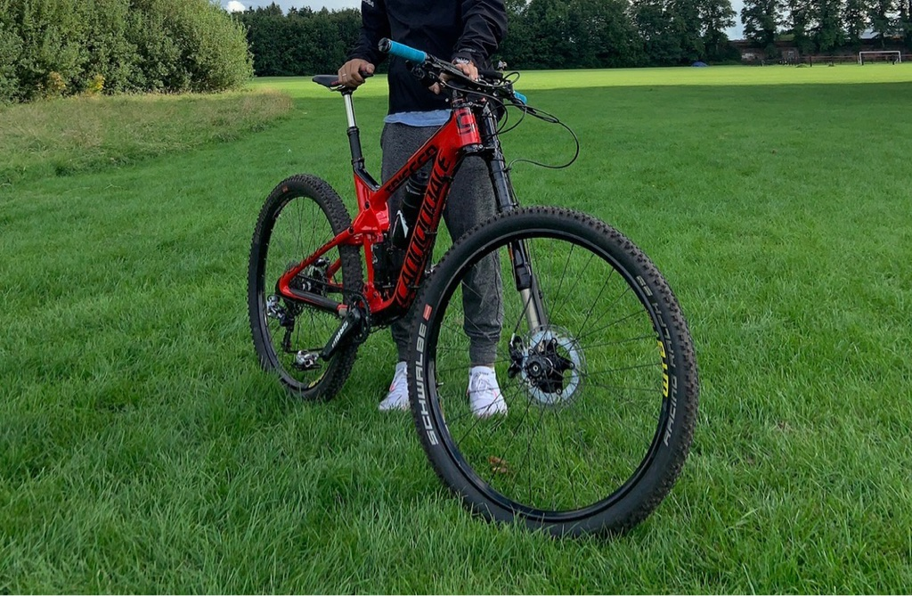 Cannondale full suspension mountain bike