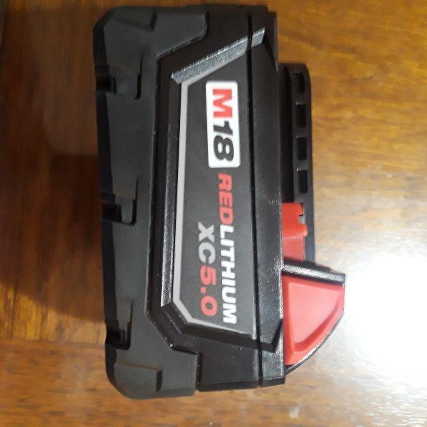 Milwaukee 5.0xc lithium ion battery