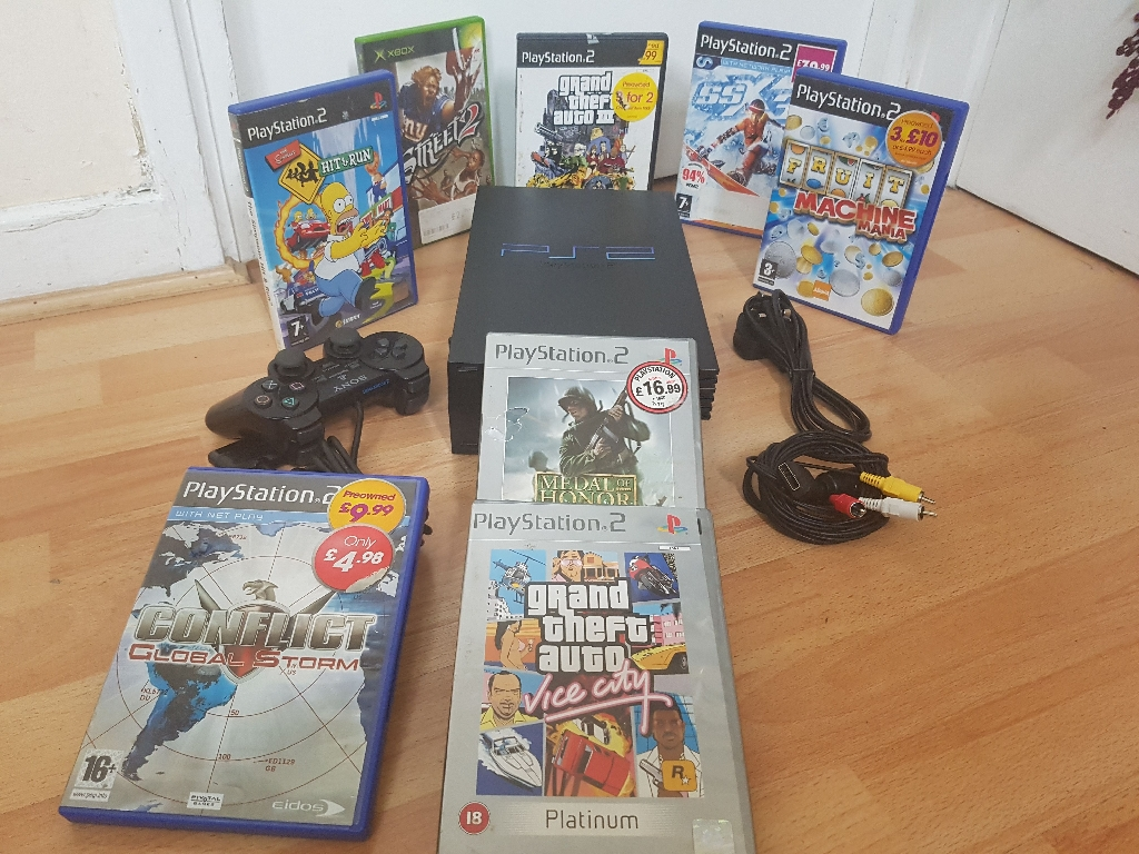 Play station 2 bundle