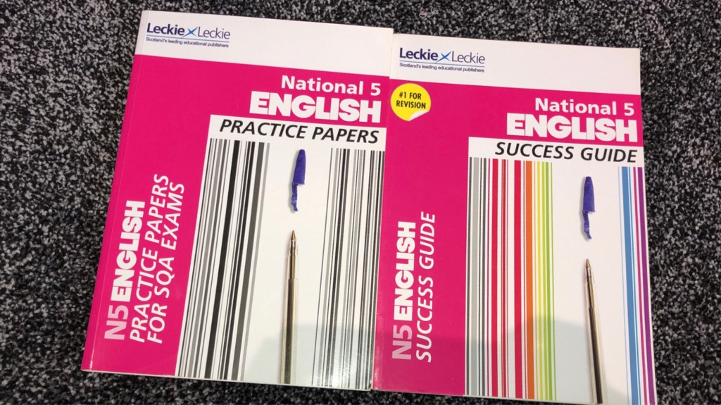 National 5 English Books