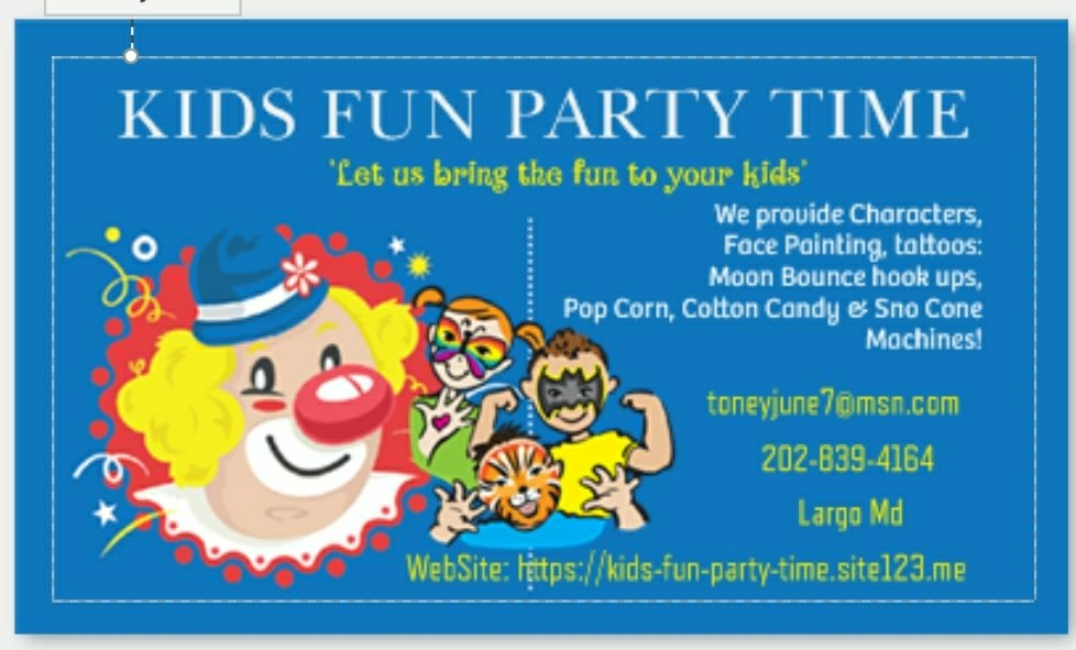 Moon bounce rentals, face painting & more