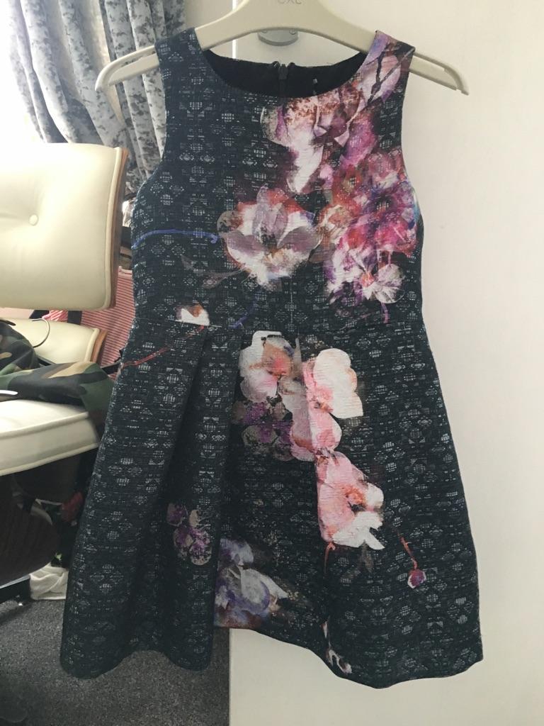 Girls Next Dress & Cardigan set, 7yrs