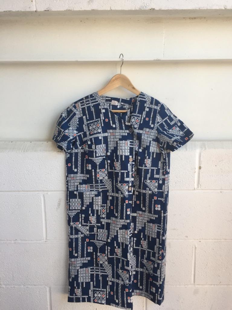Original vintage dress Japanese style size 10