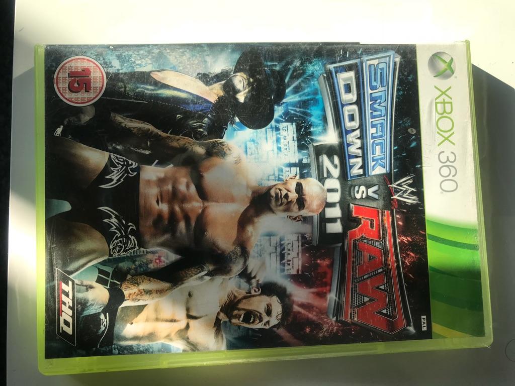 Smackdown vs raw 2011 Xbox 360 game