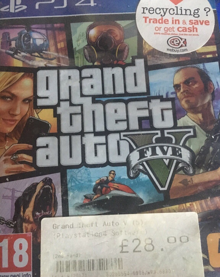 GTA 5 [PS4]