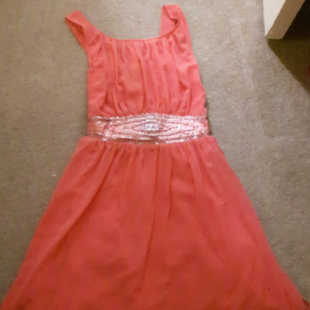 Size 10 peach dress