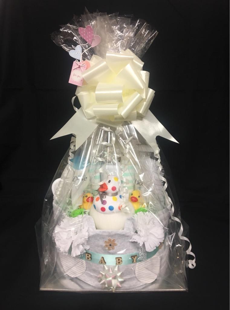 Nappy Cake. Baby Shower. Newborn Gift.
