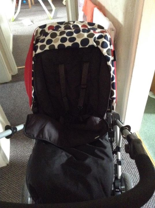 Pram car seat and accessories