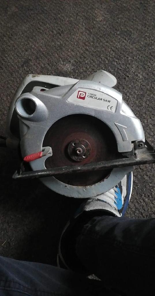 1200w performance power circular saw