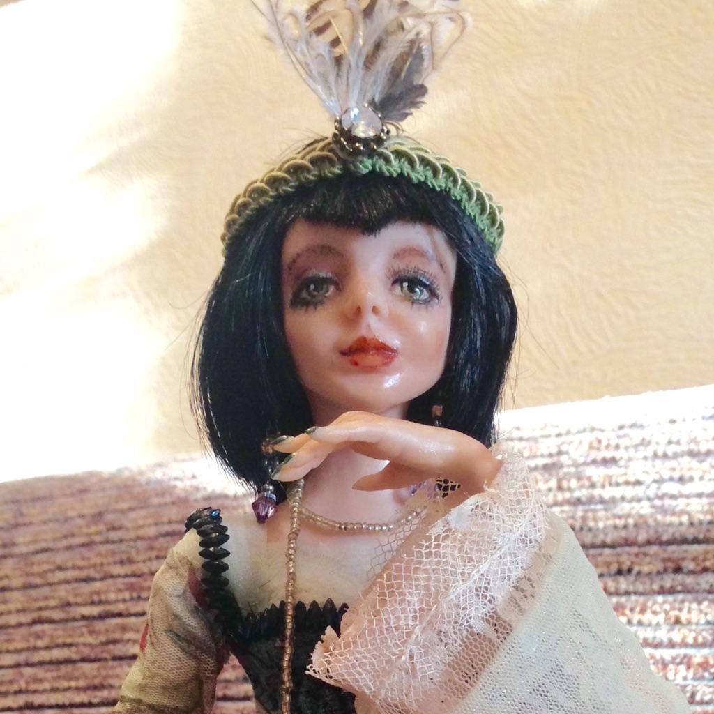 Art doll Sally