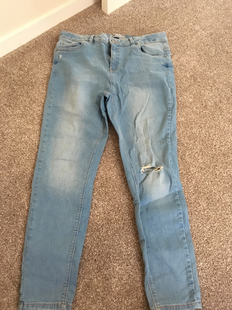 New look jeans size 14