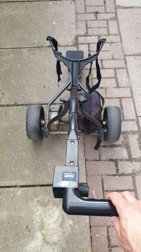Used Electric golf trolley