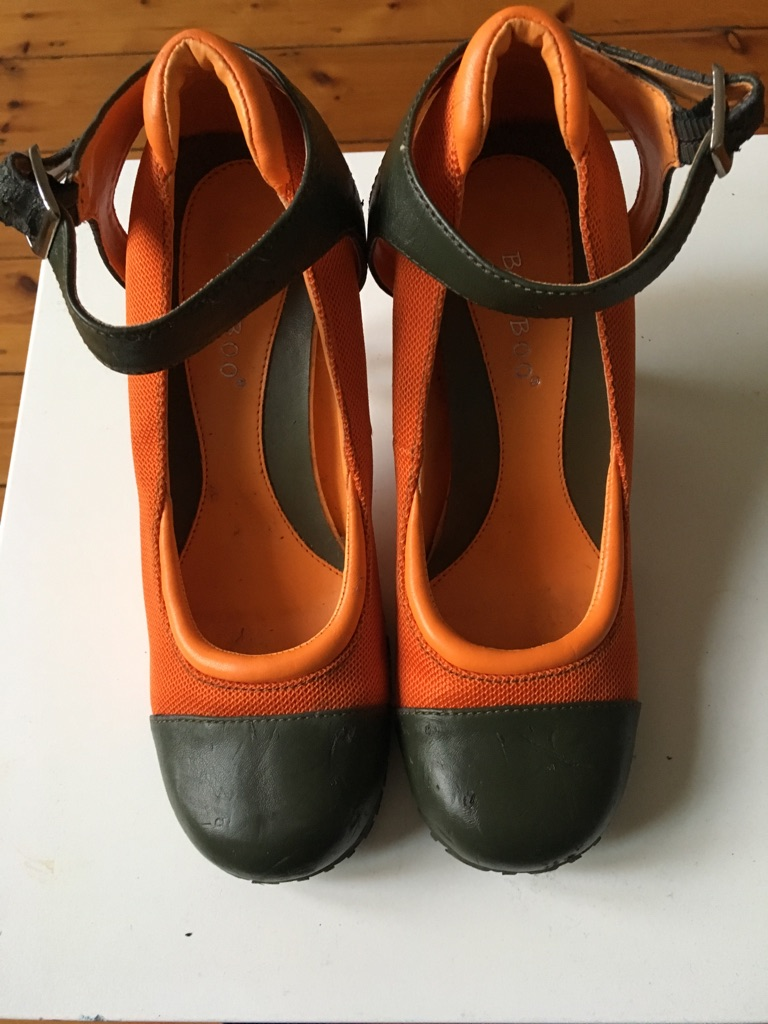 Funky High heels 38 ( size 5 )