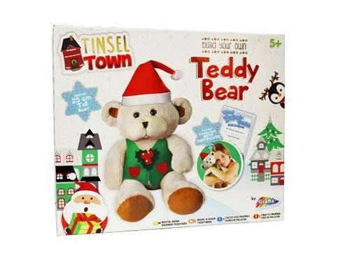 Tinsel town build your own Christmas teddy bear