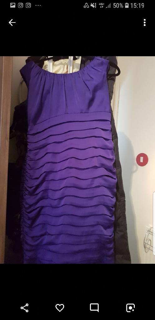 BARGAIN COAST purple dress