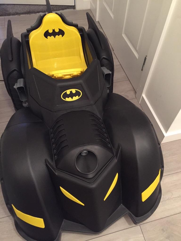 Electric ride on batmobile