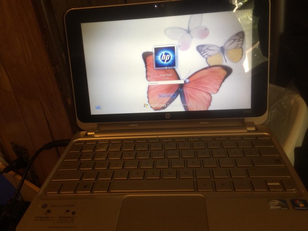 Hp mini series laptop