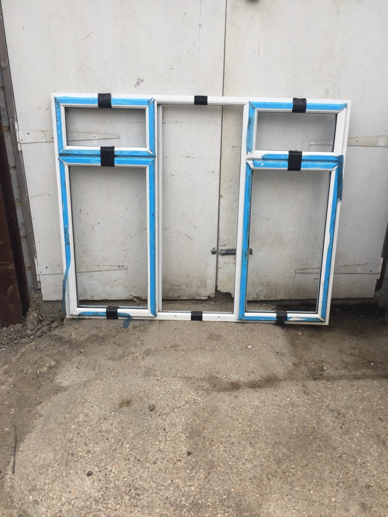 Aluminium window frame new