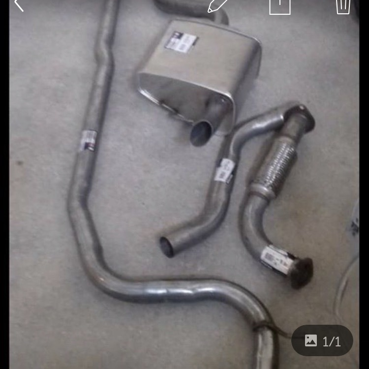 Brand new mk3 ford Mondeo full exhaust system
