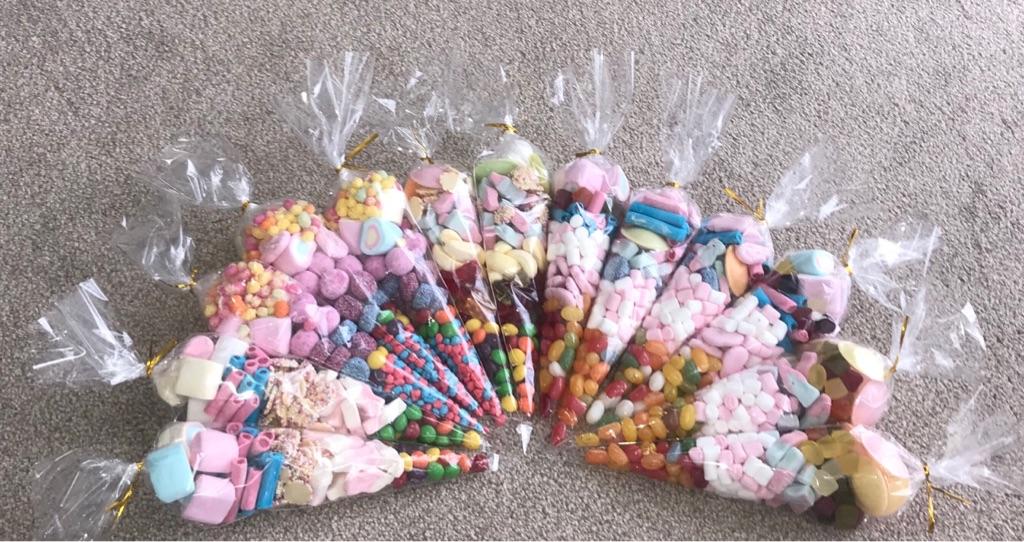 Sweet cones - Pack of 10