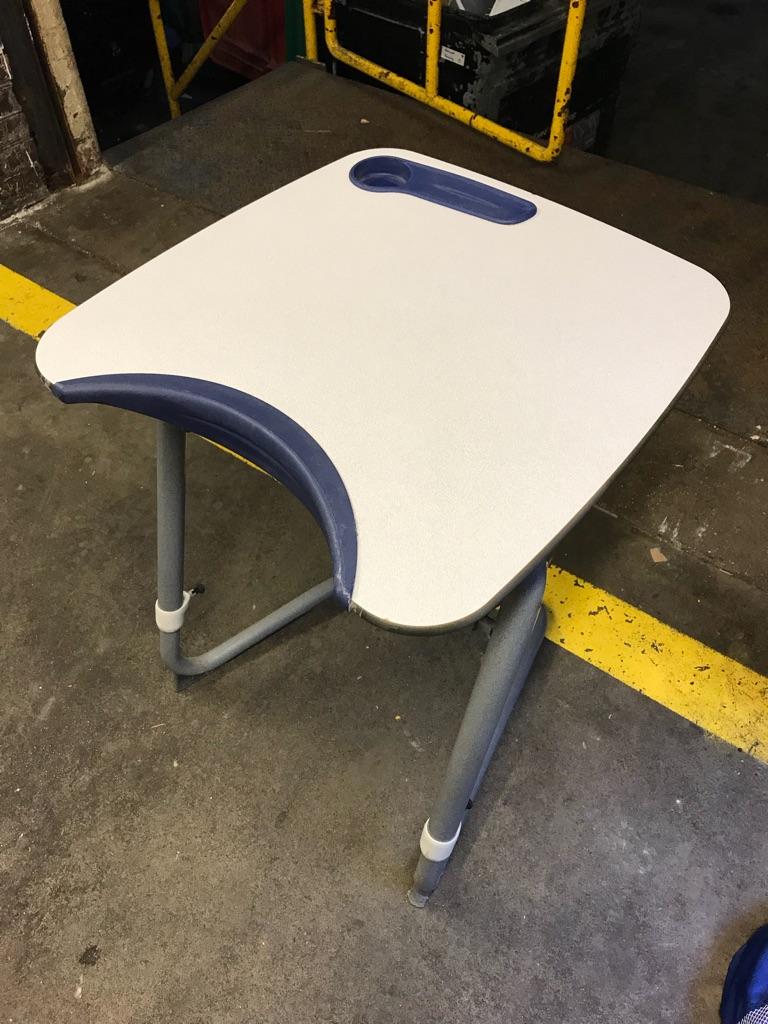 Height Adjustable Exam Desks x 50