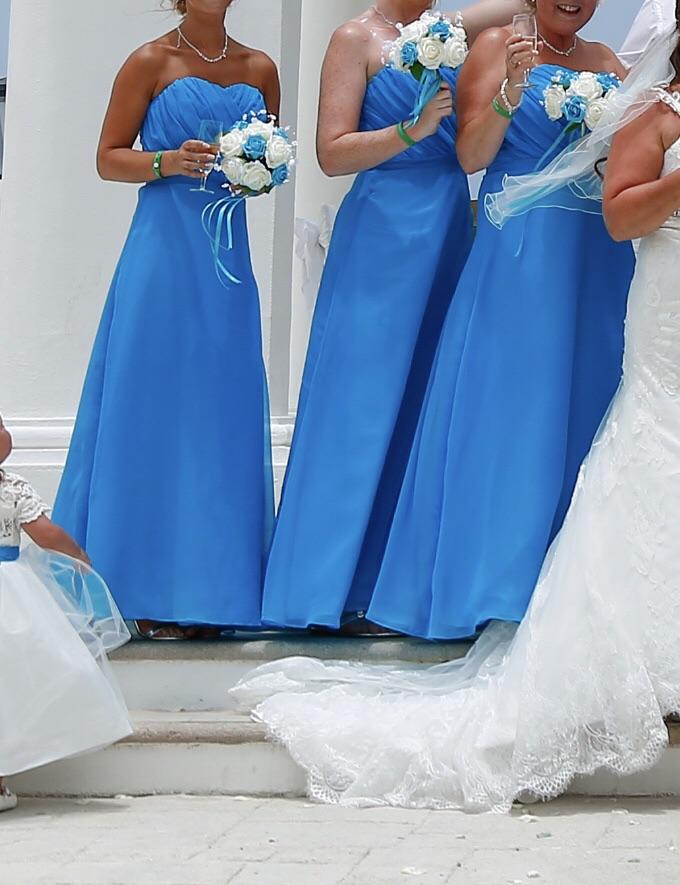SET OF 3 BRIDESMAIDS DRESSES