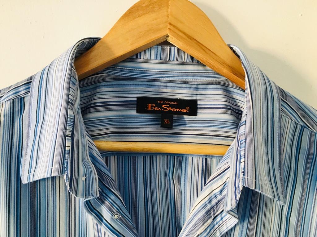 Ben Sherman Striped Blue Shirt