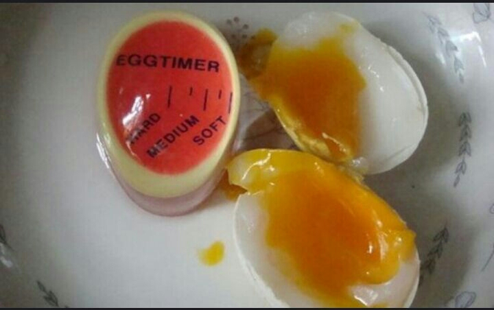 Egg timer Perfect Color yummy soft , hard boiled