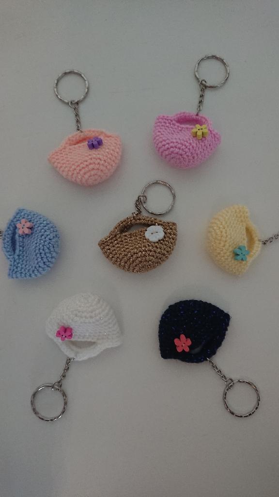 Crochet Keyring handmade to order.