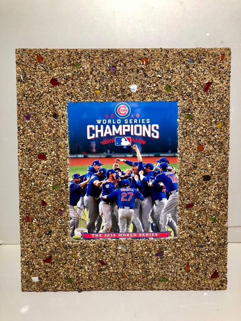Decorative wall picture Cubs..