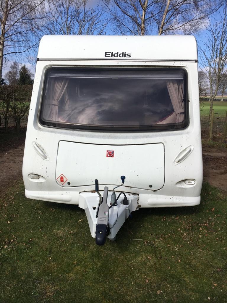 Touring caravan 2 Berth